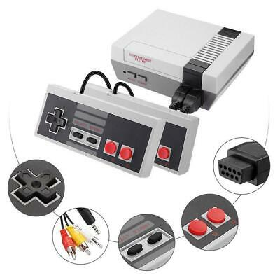 Retro Game Console 620 Built-in MINI Classic NES Nintendo Games w/ 2 Controllers