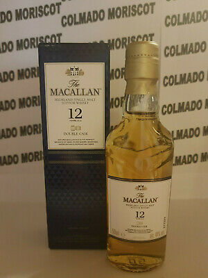 WHISKY THE MACALLAN AMBER 5cl 40/% miniatura mignonette minibottle glass boxed
