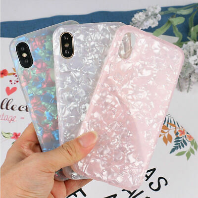Marble Case For iPhone 6 6s 7 8 Plus XR XS Max Shockproof Silicone Phone Cover