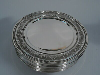 International Wedgwood Plates - H456 - Chargers - American Sterling Silver