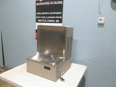 """""""Elkay Ehc8"""" H.d. Commercial Refrigerated Wall Mount Drinking Water Fountain"""