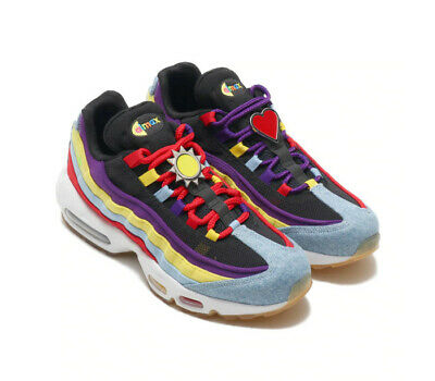 NIKE AIR MAX 95 Sp Psychic Blue Chrome Yellow Denim