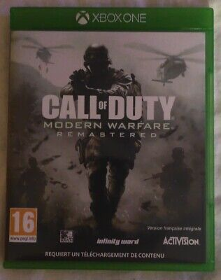 Jeu Xbox One - Call of Duty: Modern Warfare Remastered - Complet - PAL FR