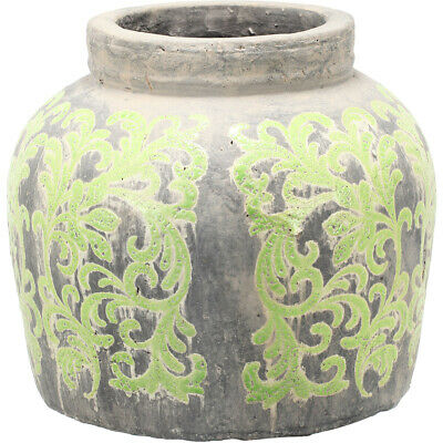 A&B Home DT0351 Terracotta 13 inch Jar