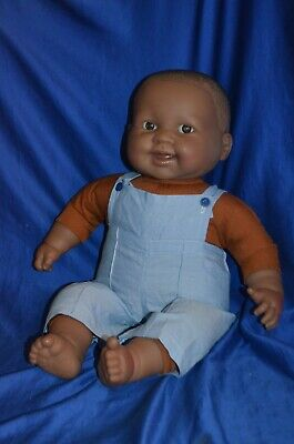 Berenguer African American Baby Doll Soft Body 50 Cm