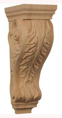 Extra Large Acanthus Wood Corbel in Rubberwood [ID 3874358]