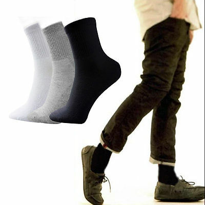 5 Pairs Mens Womens Trainer Liner Ankle Cotton Rich Sports Gym Socks UK LOT
