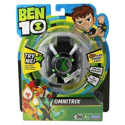 Ben 10 Omnitrix Role Play Watch with Lights & Sounds - 40+ Alien Phrases & SFX