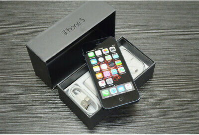 USA Seller NEW Apple iPhone 5 32 GB Black Unlocked (WCDMA + GSM) WiFi smartphone