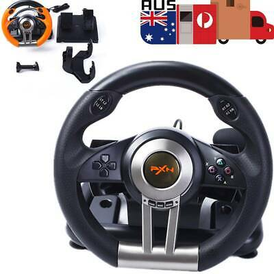 Window PC PS3 PS4 Xbox One PXN V3II Driving Race Game Steering Wheel Brake Pedal