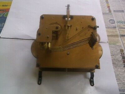 5 Hammer 4X4 Mechanism  From An Old  Mantle Clock Working Order Ref Gav 5