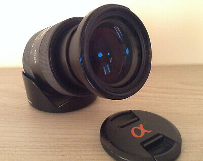Sony DT 16-105 mm f3.5-5.6 Lens for sony A-Mount camera SAL16105 - Made in Japan