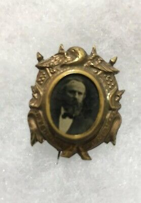 Political Rutherford B Hayes Brass Shell