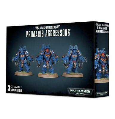 GW 40k Space Marines Ultramarines Primaris Aggressors Box SW