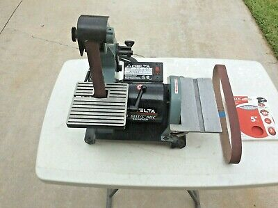 Magnificent Used Delta Model 23 880 8 Bench Grinder 120V 1 2 Hp 3500 Dailytribune Chair Design For Home Dailytribuneorg