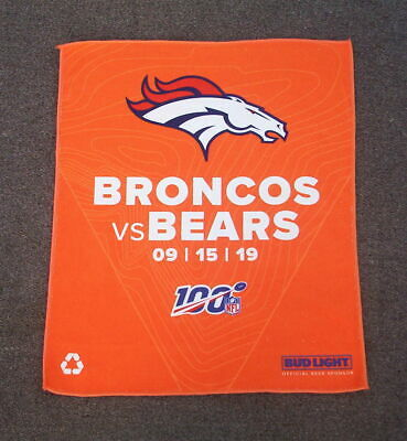 Denver Broncos 2019 Rally Towel And Season Schedule Magnet Game Day Giveaways
