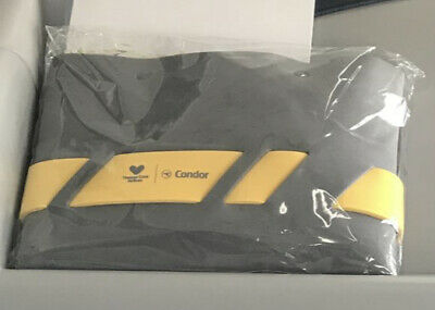 Condor Airlines Business  Class Amenity Kit Gray w/snaps