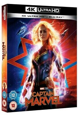 Captain Marvel - 4K UHD Ultra HD  Blu-ray Brand new and sealed.Same day shipping