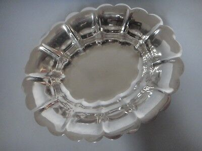 Nice Sterling Silver Oval Bowl