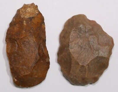 Early Man 2 Stone Age Tools West Desert Morocco 30,000 to 80,000 years