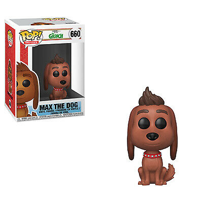Funko Pop Animation: The Grinch Movie - Max The Dog Collectible Figure, Multicol