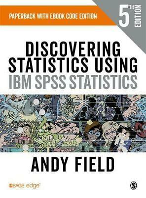 Discovering Statistics Using IBM SPSS Statistics by Field, Andy, NEW Book, FREE
