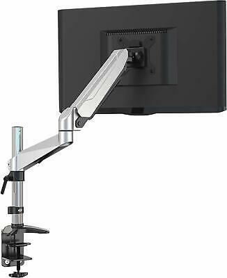 Adjustable Single Monitor Stand Arm Desk VESA Mount & Clamp for LCD LED Screens