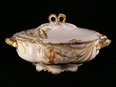 Haviland & Co. Limoges Jugendstil große Terrine 3 l