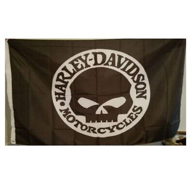 Harley Davidson Willie G Flag Banner 3 X 5 ft with grommets