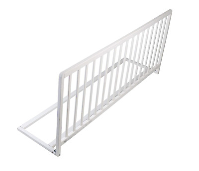 Safetots Extra Wide Extra Tall Wooden Bed Rail White