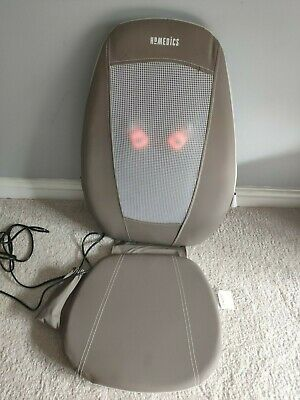 HoMedics Shiatsu Massger with Heat SBM-180H Upper Lower Full Back Massage Chair