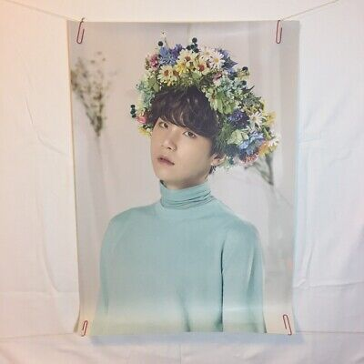 BTS Love Yourself World Tour Official Poster - SUGA