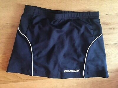 BABOLAT NAVY GIRLS TENNIS SKORT AGE 12 152 cms USED GOOD CONDITION