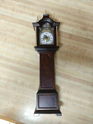 The Bombay Company Royston Mini Grandfather Clock, 2001 no Back clock for repair