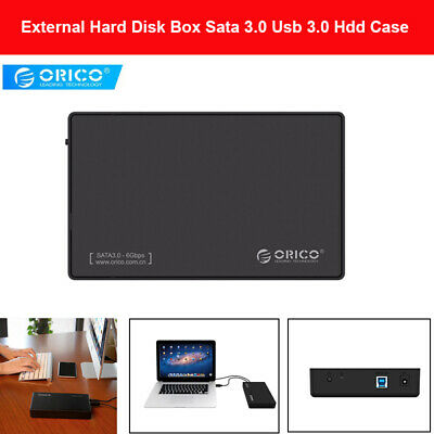 Orico 3.5 Inch External Hard Disk Enclosure Sata 3.0 USB 3.0 SSD Hdd Adapter