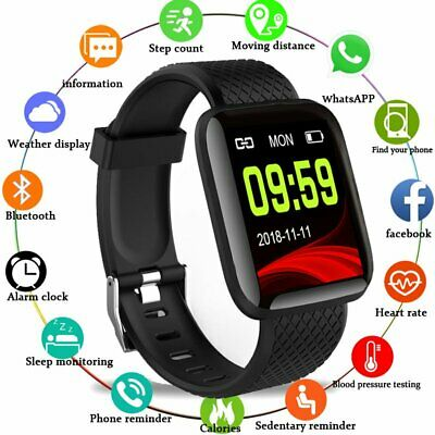 Smartwatch Orologio Smart Band Fitness Tracker Cardiofrequenzimetro Sport Ip67