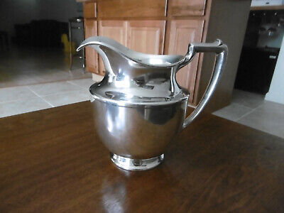 Meriden Silverplate Water Pitcher #963