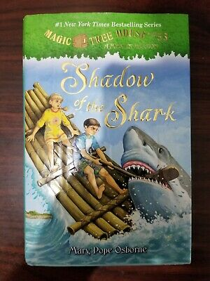 Magic Tree House #53 A Merlin Mission Shadow of the shark Mary Pope Osbourne