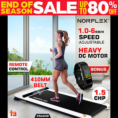 NORFLEX Electric Walking Treadmill Home Office Exercise Machine Fitness W