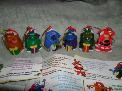 Yowies 1999 Xmas Series Full Set Of 6 Limited Editions With Papers