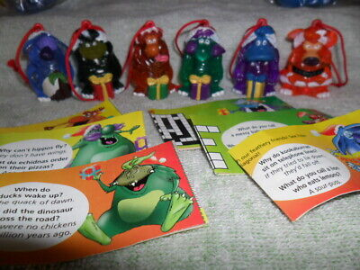 Yowies 2000 Xmas Series Full Set Of 6 Limited Editions With Papers