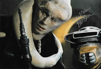 STAR WARS personally signed 12x8 - MICHAEL CARTER as BIB FORTUNA