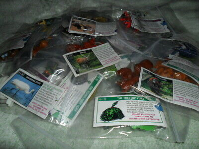 Yowie Adventure Series / Series 6 /Full Set Of 30, Some Rare Variations + Papers