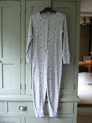 M&S girls age 11-12 cotton jersey one piece sleepsuit in excellent condition