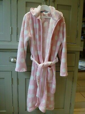 John Lewis girls age 11 warm fleece dressing gown in excellent condition