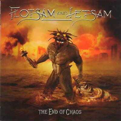 FLOTSAM AND JETSAM - THE END OF CHAOS (2019) Thrash Metal CD Jewel Case+GIFT
