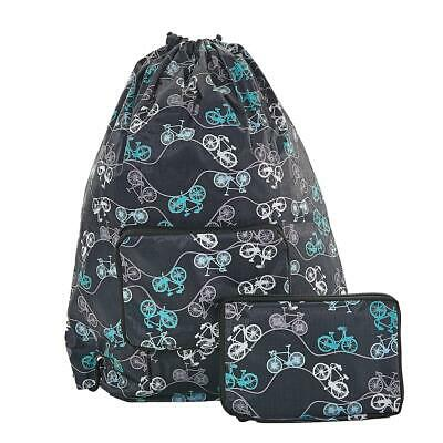 BNWT Eco Chic New Puffin Foldable Holdall Teal