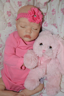 "Custom Order Reborn Twin B 17"" doll Bonnie Brown~ Reborns by Jill."