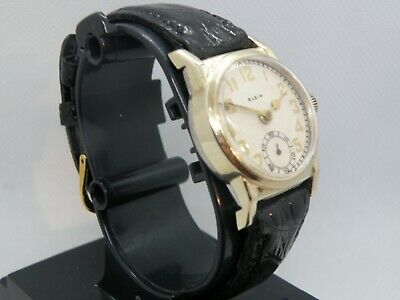 1920`s-30`s ELGIN MAN`S WATCH.....RARE ANTIQUE ART DECO WRISTWATCH