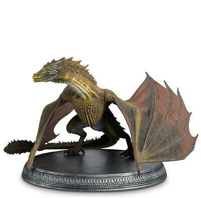 Eaglemoss  Hbo Game Of Thrones  Online Issue  Dragon Viserion With Magazine Bnib